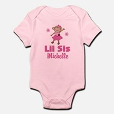 Lil Sis Personalized monkey Body Suit