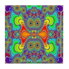 Fractal FR~14 Tile Coaster