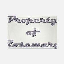 Property Of Rosemary Female Magnets