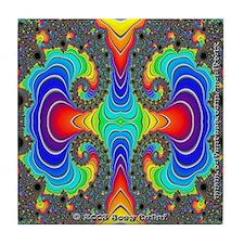 Fractal FR~16 Tile Coaster