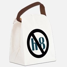 no h8 Canvas Lunch Bag