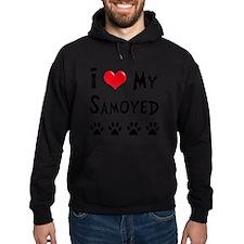 I-Love-My-Samoyed Hoodie