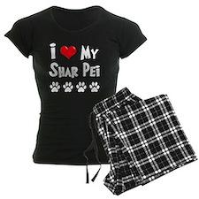 I-Love-My-Shar-Pei-dark Pajamas