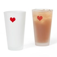 I-Love-My-Shar-Pei-dark Drinking Glass