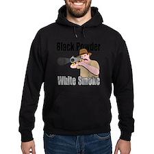white smoke Hoodie