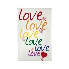love is love2 Rectangle Magnet