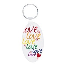 love is love2 Keychains