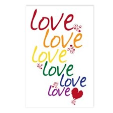 love is love2 Postcards (Package of 8)