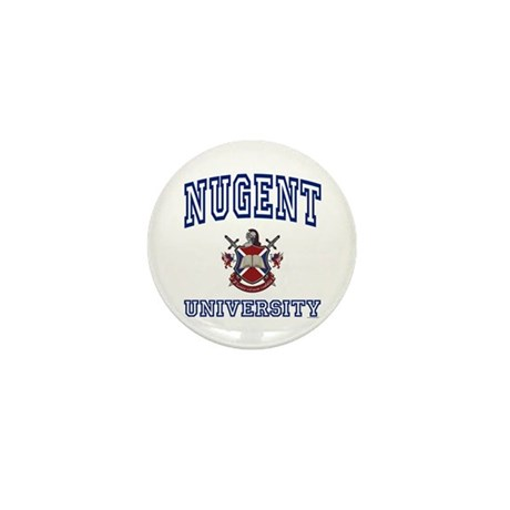 NUGENT University Mini Button