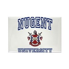 NUGENT University Rectangle Magnet