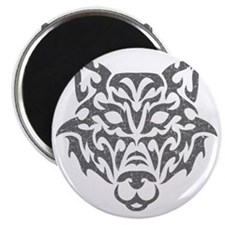 wolf-tribal-gray Magnet