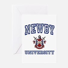 NEWBY University Greeting Cards (Pk of 10)