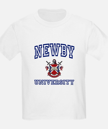 NEWBY University Kids T-Shirt