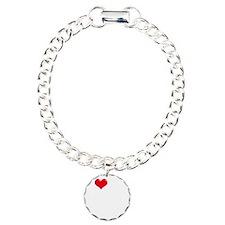 I-Love-My-Poodle-dark Bracelet