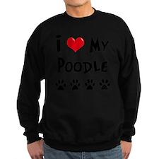 I-Love-My-Poodle Sweatshirt