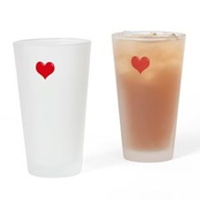 I-Love-My-Great-Dane-dark Drinking Glass
