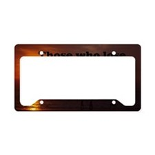 those who lose dreaming12x18 License Plate Holder