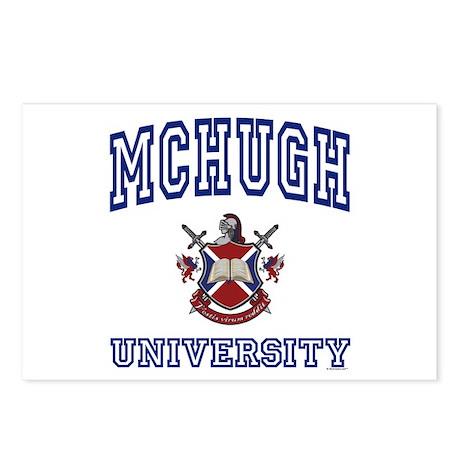 MCHUGH University Postcards (Package of 8)