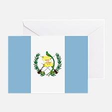 Guatemalan flag Greeting Cards (Pk of 10)