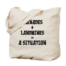 situation-final Tote Bag