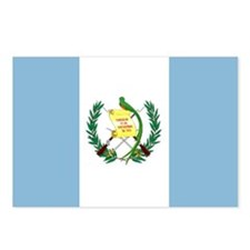 Guatemalan flag Postcards (Package of 8)