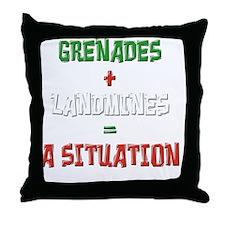 situation-final1 Throw Pillow
