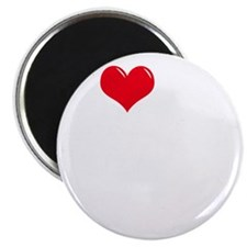 I-Love-My-Mastiff-dark Magnet