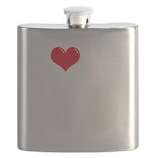 I-Love-My-Mastiff-dark Flask