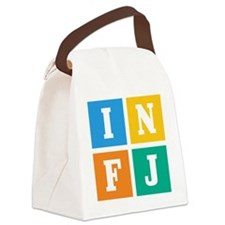infj Canvas Lunch Bag