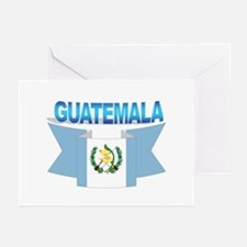 The Guatemala flag ribbon Greeting Cards (Package