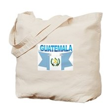The Guatemala flag ribbon Tote Bag