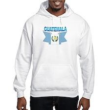 The Guatemala flag ribbon Hoodie