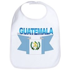 The Guatemala flag ribbon Bib