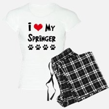 I-Love-My-Springer Pajamas
