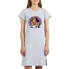 Crohns-Disease-Dog Women's Nightshirt