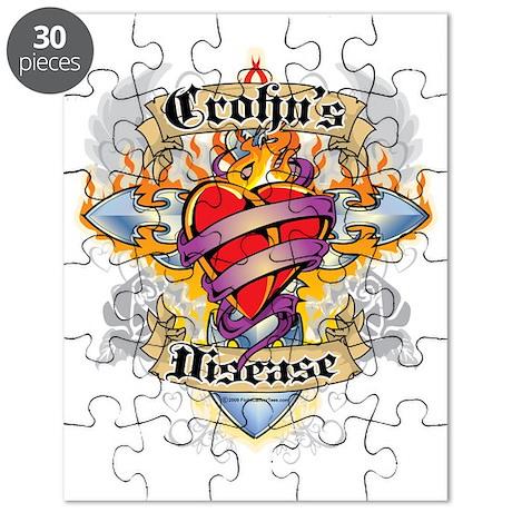 Crohns-Disease-Cross--Heart Puzzle