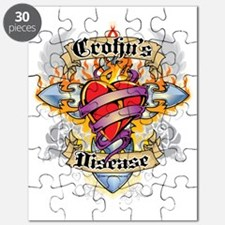 Crohns-Disease-Cross--Heart Puzzle