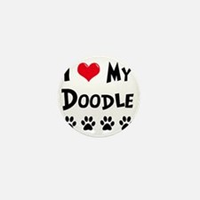 I-Love-My-Doodle Mini Button