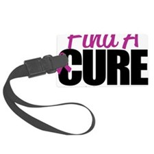 Crohns-Disease-Find-A-Cure Luggage Tag