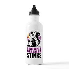 Crohns-Disease-Stinks Water Bottle