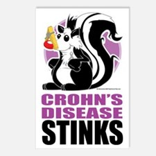 Crohns-Disease-Stinks Postcards (Package of 8)