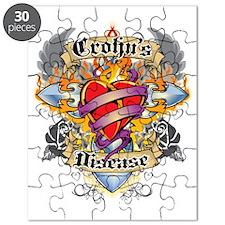 Crohns-Disease-Cross--Heart-blk Puzzle