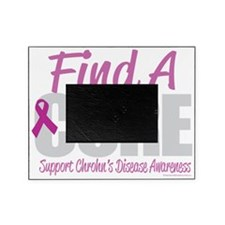 Crohns-Disease-Find-A-Cure-blk Picture Frame