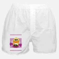 Knock-Out-Crohns-Disease-blk Boxer Shorts