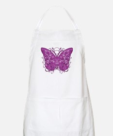 Crohns-Disease-Butterfly-blk Apron