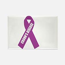 Crohns-Disease-Hope-blk Rectangle Magnet