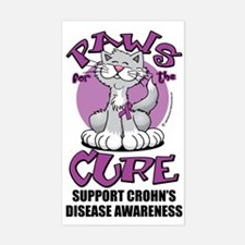Paws-for-the-Cure-Cat-Crohns-D Decal