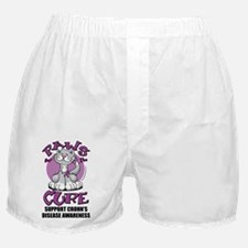 Paws-for-the-Cure-Cat-Crohns-Disease Boxer Shorts