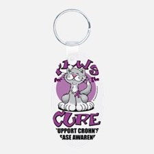 Paws-for-the-Cure-Cat-Crohn Keychains