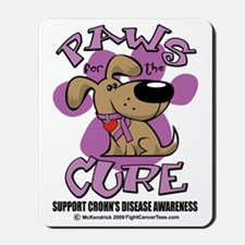 Paws-for-the-Cure-Crohns-Disease Mousepad